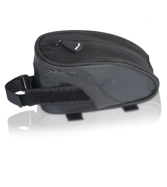 Xlc Ba-s61 Bolsa Cuadro Negro/antracita 16x6x9cm 0.55l