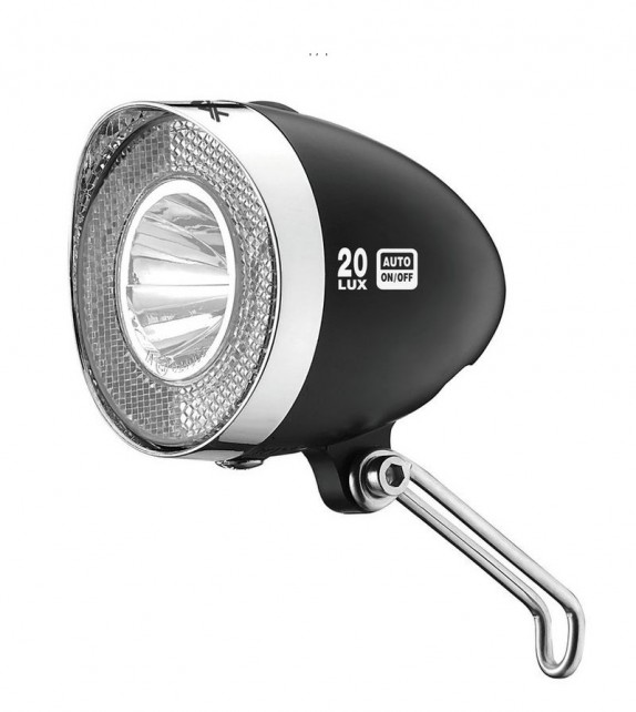 Xlc Cl-d03 Faro Led 20lux Interruptor+sensor 70mm Negro