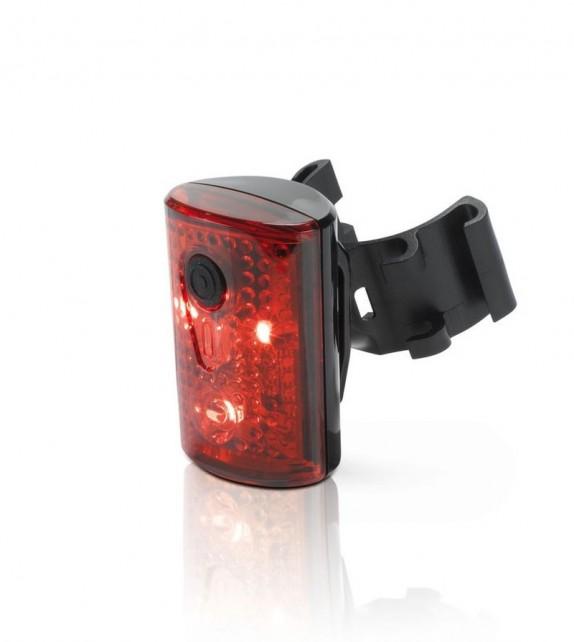 Xlc Cl-r14 Luz Trasera Pan 3 Leds Roja Con Carga Usb