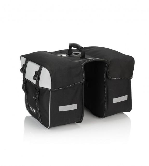 Xlc Ba-s74 Juego De Alforjas 30x30x17cm Negro/antracita 30l