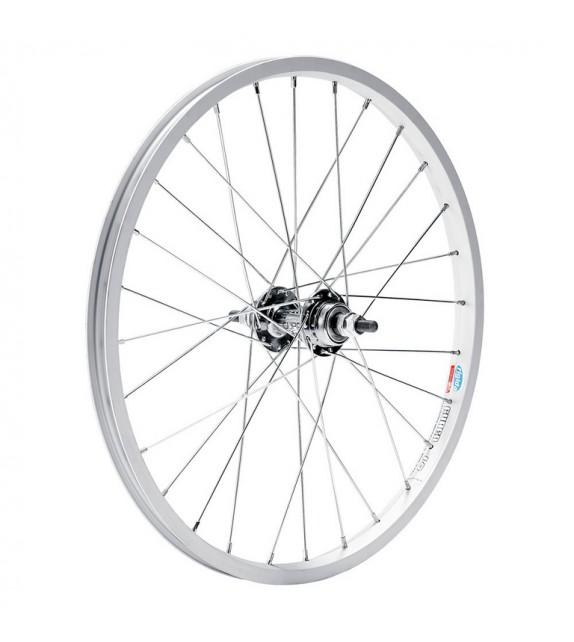 Rueda Trasera Aluminio 20 X 2.125 Btt 6velocidades
