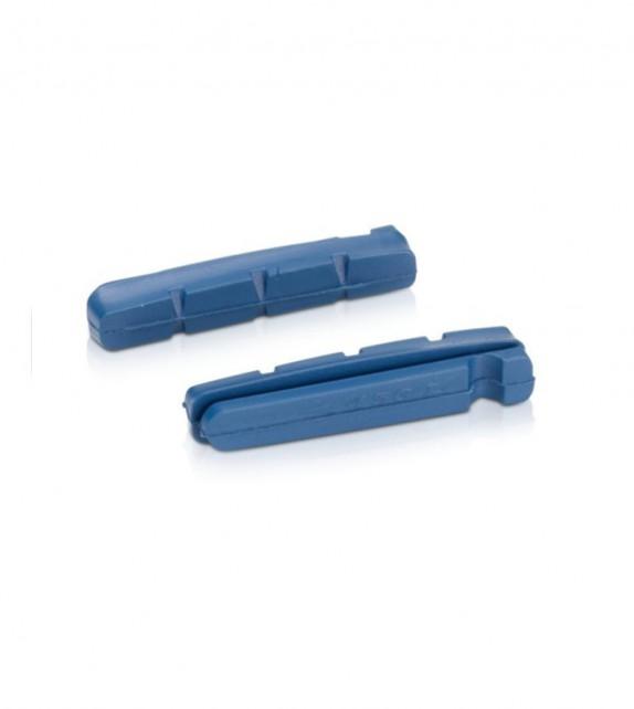 Xlc Bs-x16 Set 4 Gomas Zapatas Para Llanta De Carbono 55mm Shimano
