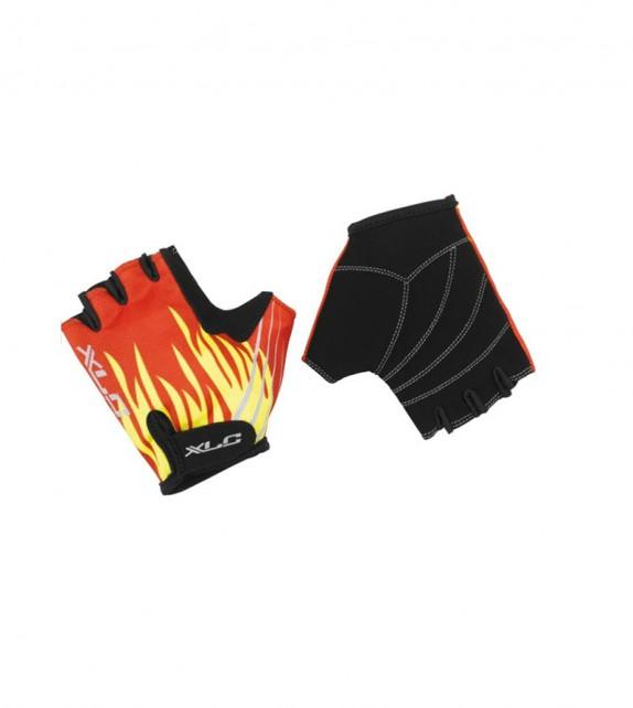 Xlc Cg-s08 Guantes Niño Velcro Fuego