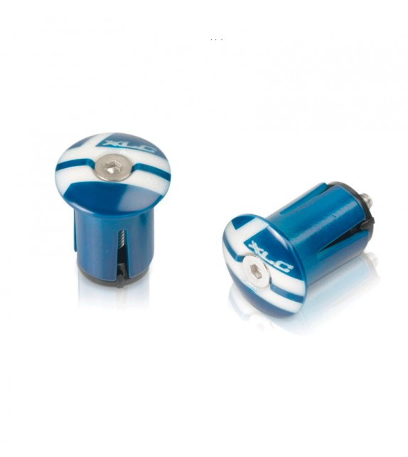 Xlc Gr-02 Tapones Manillar Azules