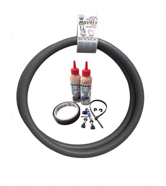 "Kit Mousse Navali 29"" 40 (2uds Sellante ,valvula ,cinta Tubeless)"
