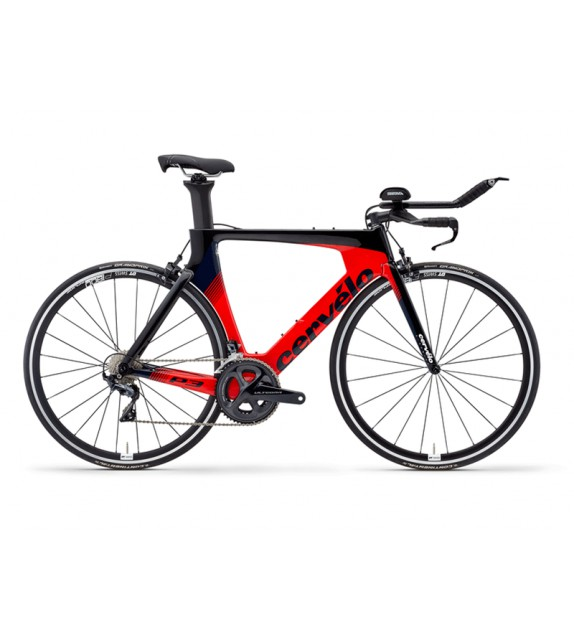 Bicicleta de triathlon Cervélo P3 Ultegra 8000