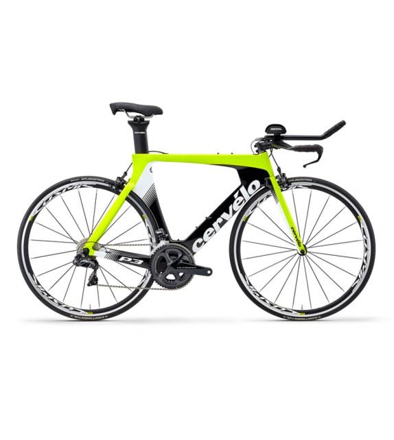 Bicicleta de triathlon Cervélo P3 Ultegra Di2 8060