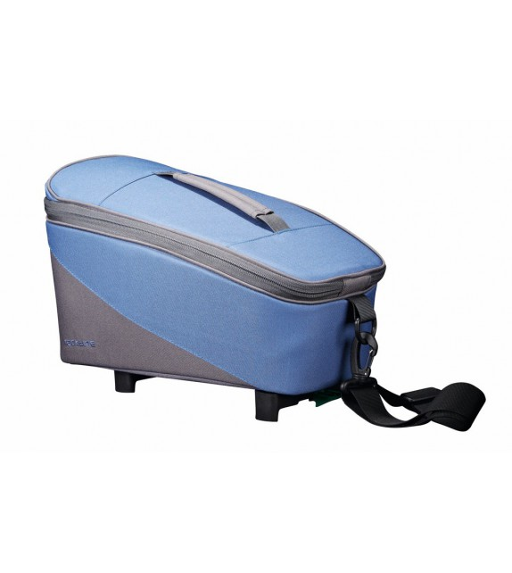 Bolsa Tubus Racktime Talis Adapt.snapit Incluido 23x18x37 Azul/gris 8 Litros
