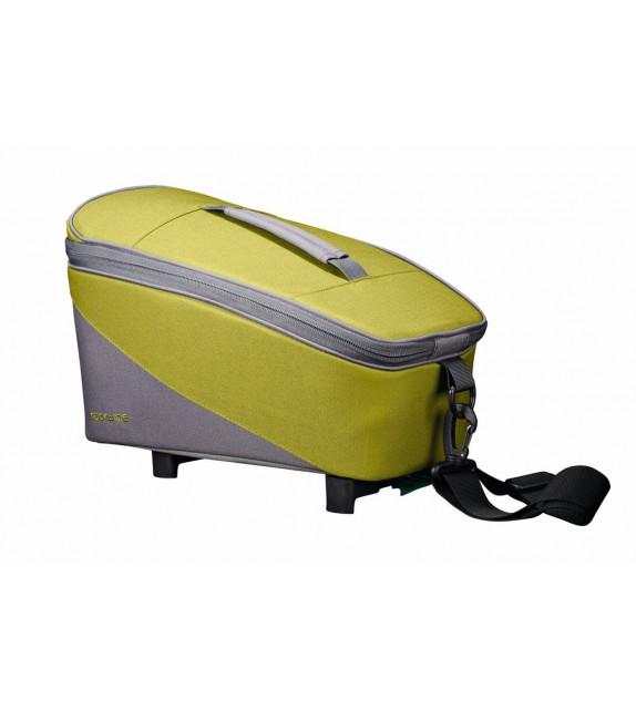 Bolsa Tubus Sistema Racktime Talis C/adaptador Snapit 23x18x37 Cm Verde/gris 8 Litros