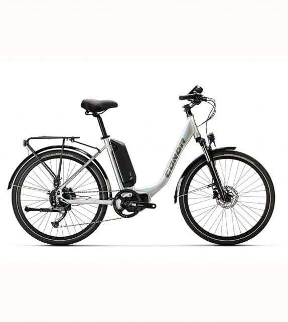 """Bicicleta Eléctrica Conor E5 26"""" Lady E5000 9v"""
