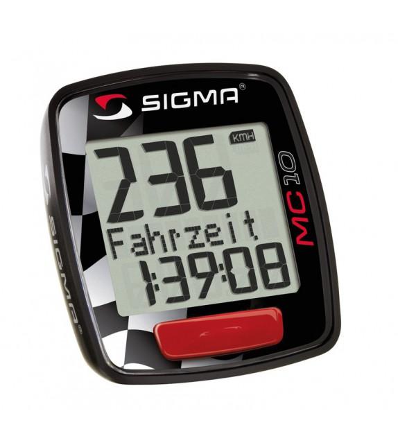 Cuentakilómetros Motos Sigma Mc 10 Negro