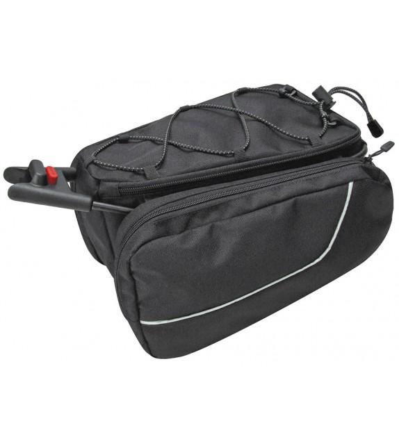 Bolsa Klickfix Para Tija De Sillin Contour Max Sport Adaptador Incluido Negro 7 L