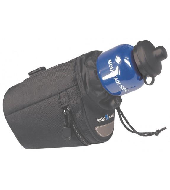 Bolsa Klickfix Para Tija De Sillin Micro Bottle Bag Adaptador Incluido 9x14x15 Cm Negro
