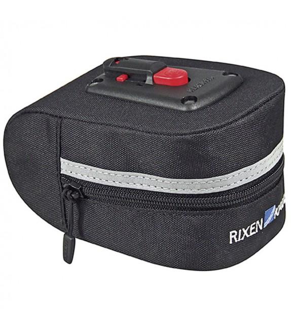Bolsa Klickfix Para Tija De Sillin Micro 100 Adaptador Incluido 10x7x15 Cm Negro