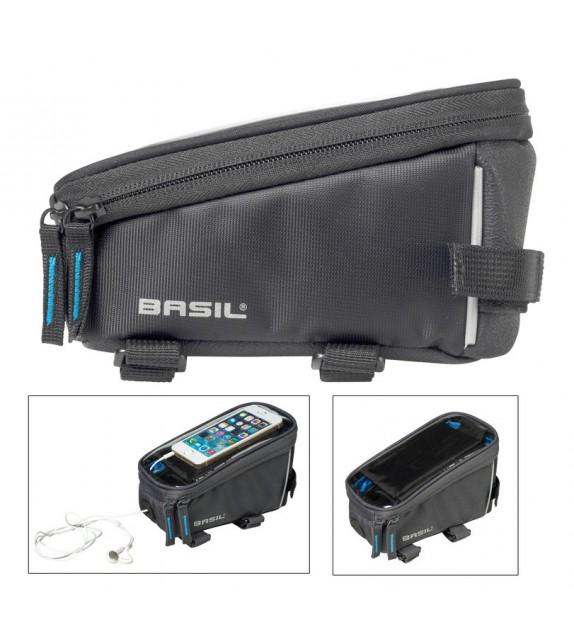 Bolsa Cuadro Para Telefono Basil Sport Design C/reflectante Impermeable 1l Con Velcro