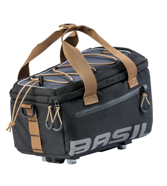Bolsa Portabultos Basil Mik Miles Impermeable Negro/marron 7l