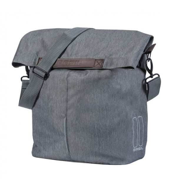 Bolsa Tras.basil City Shopper Reflect. Impermeable 14-16l (mano/bandolera) Cierre Iman