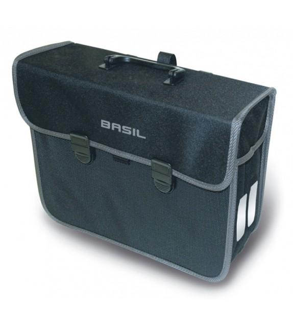 Bolsa Trasera Basil Malaga Reflectante Impermeable 13l (mano) Cierre Click
