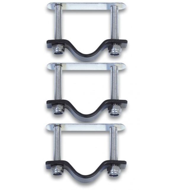 Fijacion Basil Para Cesto Mimbre/plastico En Acero Inoxidable (3 Unidades)