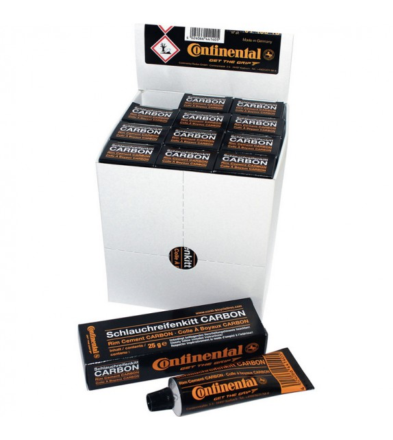 Caja 12 Tubos Continental Para Tubular Carbon