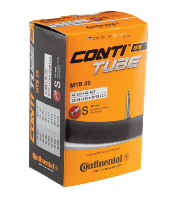 Camara Continental 29 X1.75-2.50 Presta 42 Mm