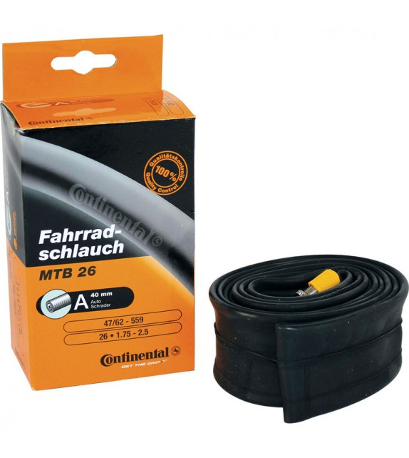 Camara Continental 700x20-25 Light Presta 80 Mm