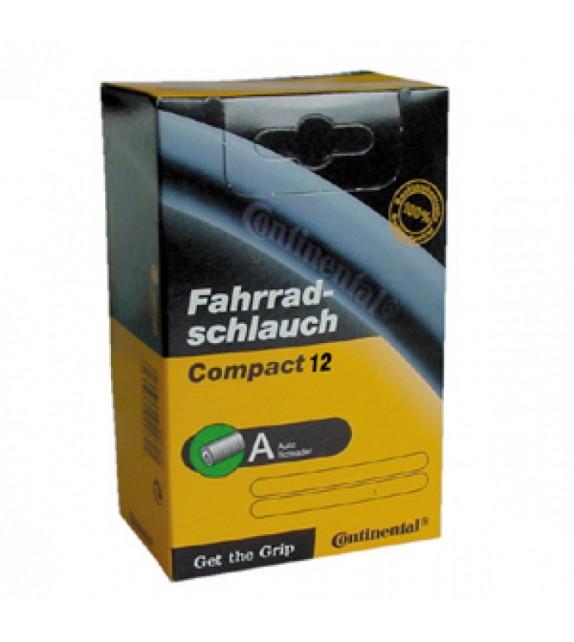 Camara Continental Compact 12x1/2x1.75-2 1/4 Valvula Standard 34 Mm