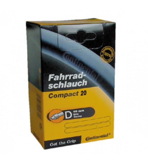 Camara Continental Compact 20x1 1/4-1.75 Valvula Dunlop 40 Mm