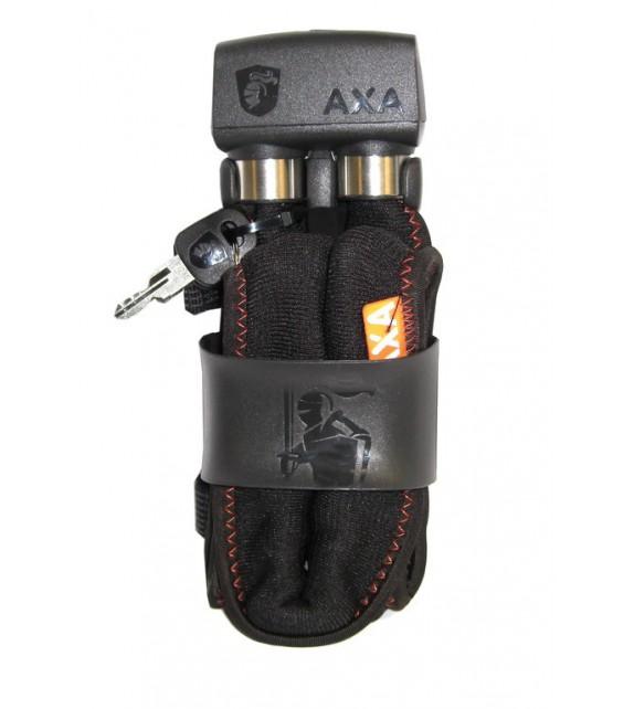 Candado Plegable Axa 800 Largo 100 Cm Grosor 8 Mm Acero Reforzado Negro 1100 G