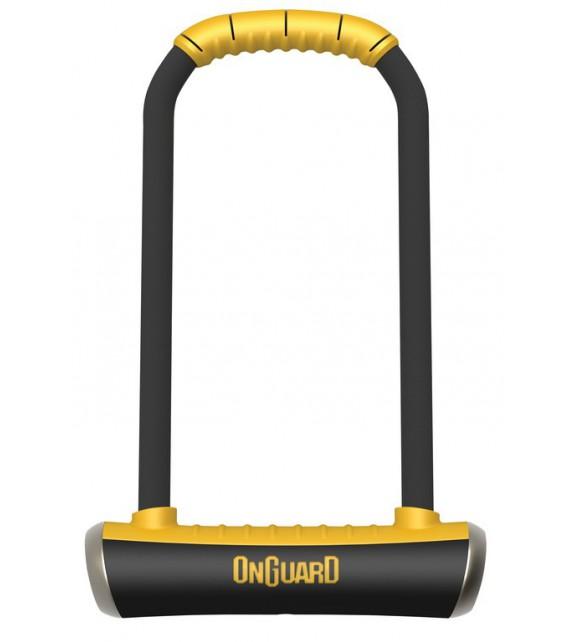 Antirrobo U Onguard Pitbull Ls 8002 115 X 292mm, ø 14mm, Con Soporte