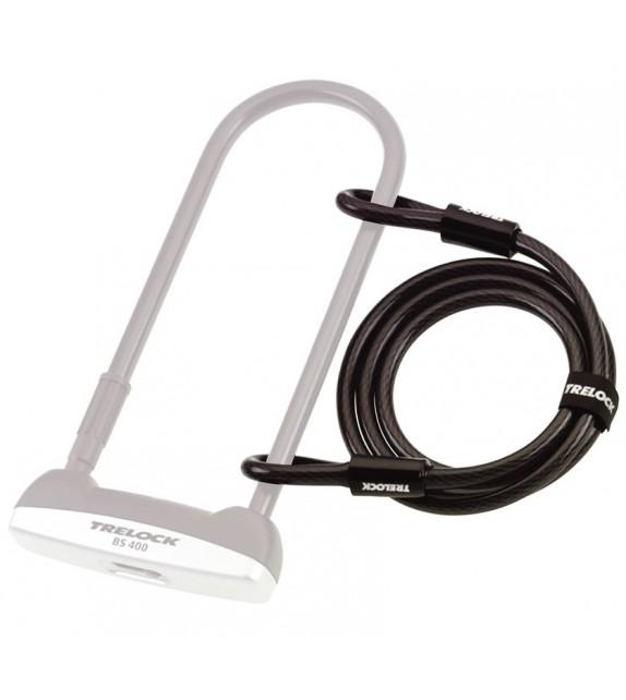 Cable Suelto Trelock Con 2 Pasantes Zs 150/150/10 150 Cm X 10 Mm