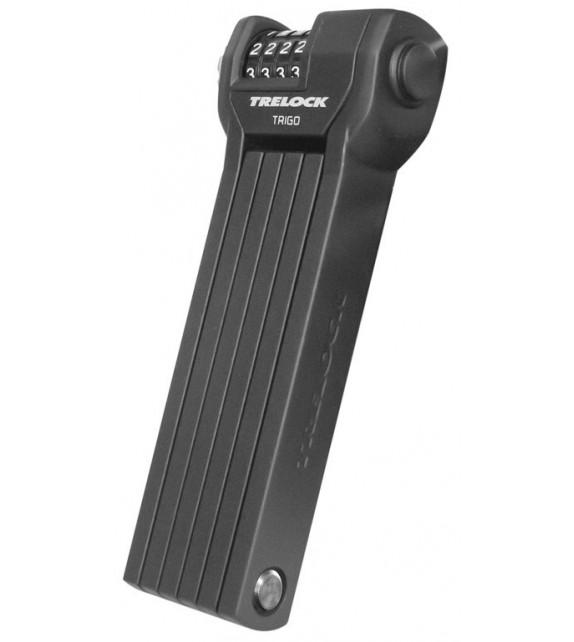 Candado Plegable Trelock Fs360 Code Con Soporte Zf234 85 Cm Negro Seguridad 3