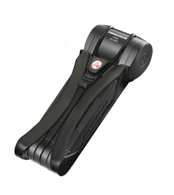 Candado Plegable Trelock Toro Con Soporte Fs500 90 Cm Con Estuche Negro Seguridad 5