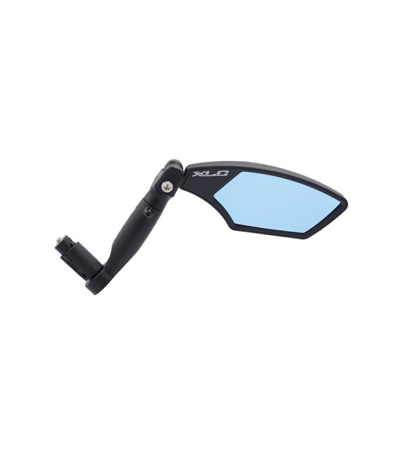 "Xlc Mr-k23 Retrovisor Derecho Cristal ""blue Hd"" Sujecion Interior Manillar 14.8-22.5 Mm Negro"