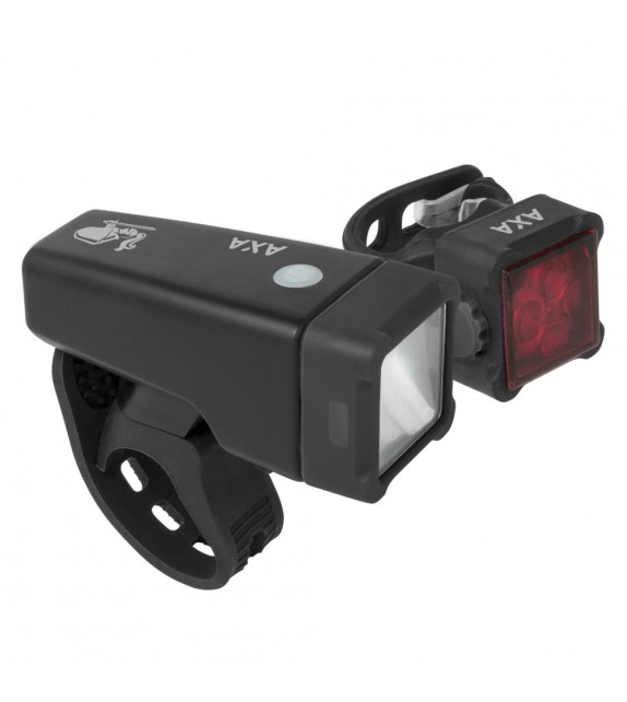 Set De Luces Axa Niteline T4-r Led Usb Negro