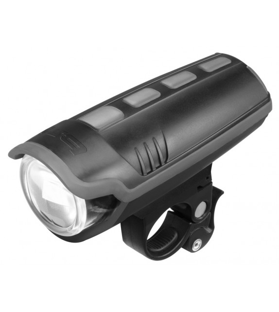 Luz Delantera Busch&müller Ixon Pure 25 Lux+bateria+cargador Negro