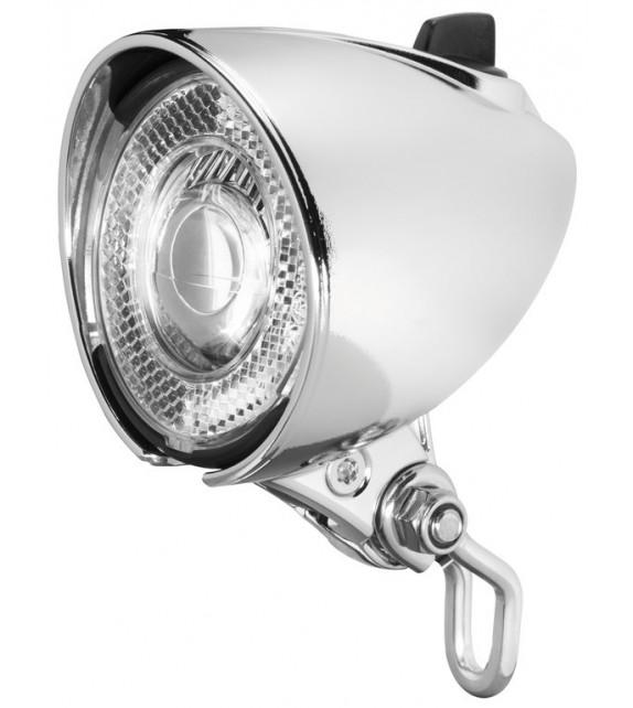 Luz Delantera Busch&müller Lumotec Classic N Plus Buje Dinamo Con Interruptor+luz Posicion 25 Lux