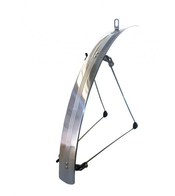 "Guardabarros Stronglight Plano 26"" 42 Mm Aluminio Anodizado"