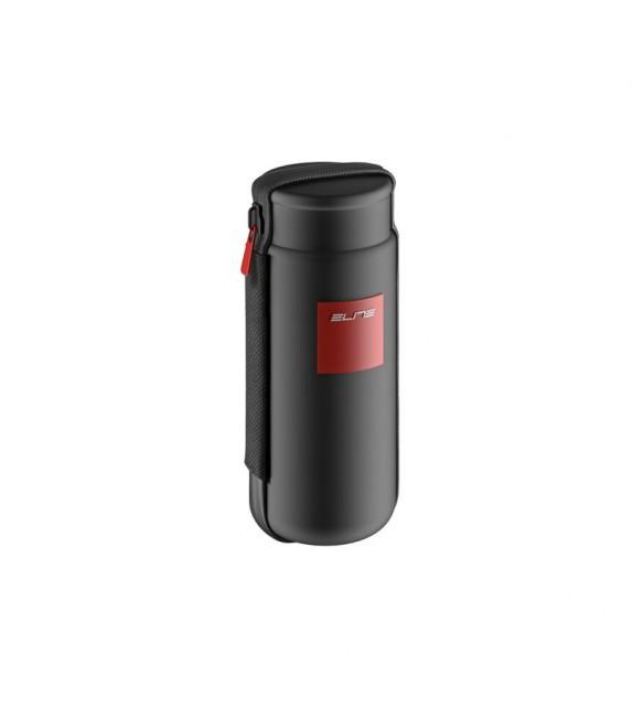 Bidon Elite Portaherramientas Takuin Negro Logo Rojo