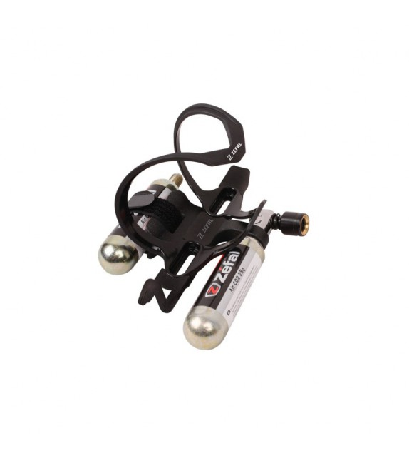 Portabidon Zefal Pulse Z2i Para Kit Co2 2x25g Negro