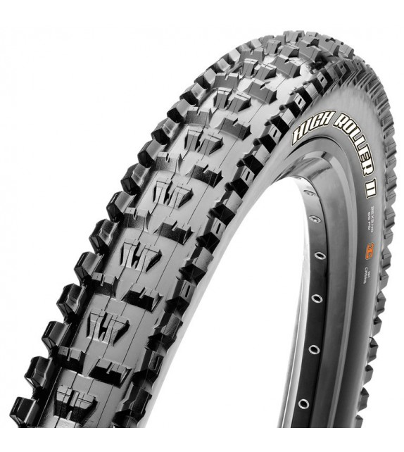 Cubierta Maxxis High Roller Ii Tubeless Ready Exo Dual Compound 27.5x2.30 Plegable Negro 58-584