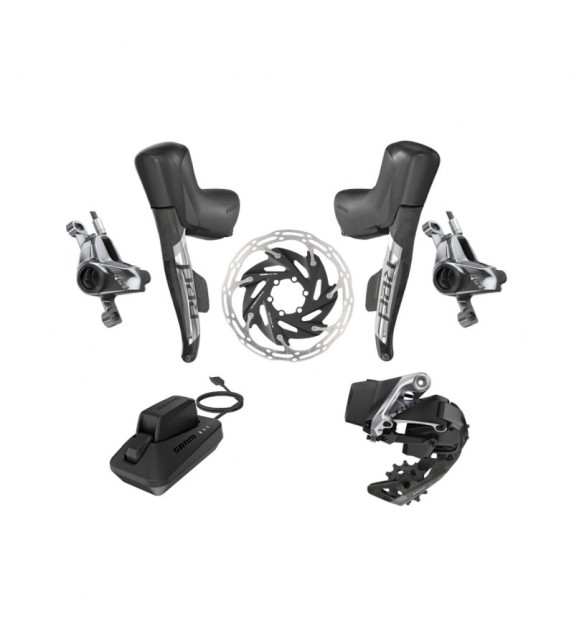 Grupo Electronico Sram Red Etap Axs 1x D1 Hidraulico Post Mount