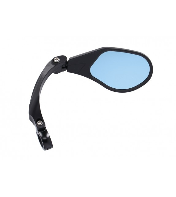 "Xlc Mr-k13 Retrovisor Derecho Cristal ""blue Hd"" Regulable Giratorio Manillares 21-26 Mm Negro"