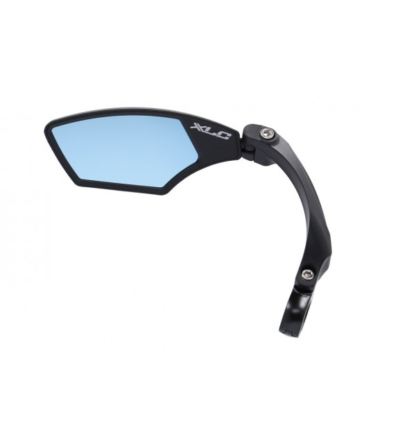 "Xlc Mr-k12 Retrovisor Izquierdo Cristal ""blue Hd"" Regulable Giratorio Manillares 21-26 Mm Negro"