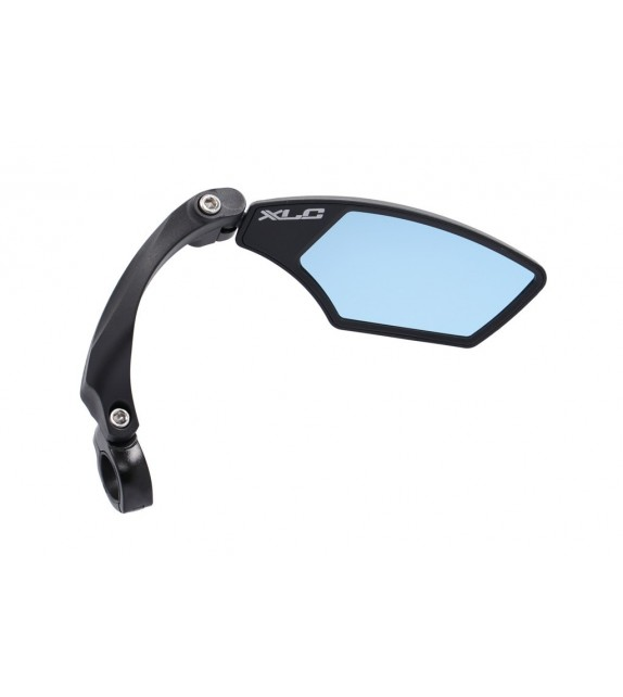 "Xlc Mr-k12 Retrovisor Derecho Cristal ""blue Hd"" Regulable Giratorio Manillares 21-26 Mm Negro"