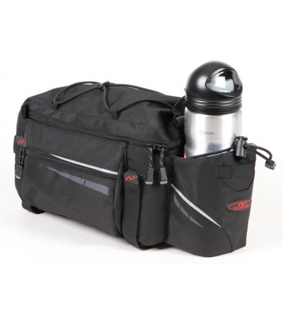 Sacoche Porte-bagage Ohio Active Serie Noir, 38x20x17cm, En