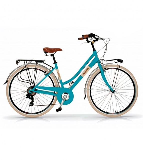 Bicicleta Urbana Quer Denia 28 6 Velocidades