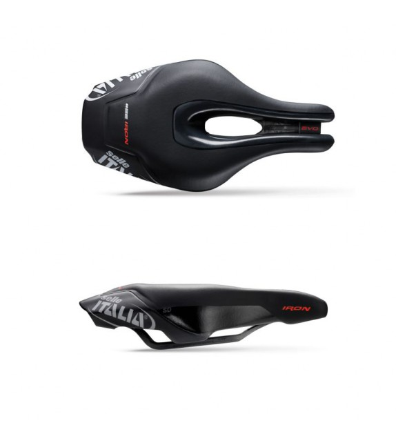 Sillin Selle Italia Iron Evo Kit Carbonio Superflow Sd
