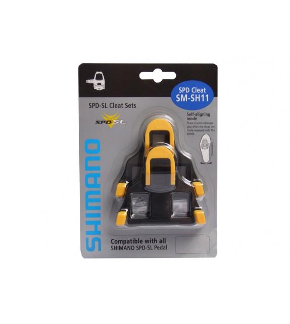 Calas Carretera Spd-sl Amarilla/negras Shimano Sm-sh 11