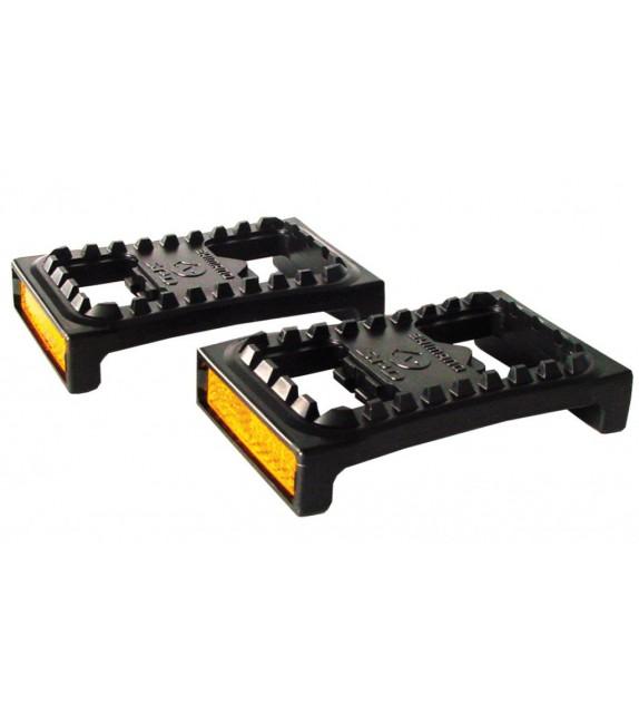 Juego De Plataformas Shimano Sm-pd22 Con Reflectante Para Pedales Pd-m959/770/520/540/515